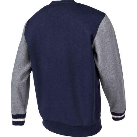 Men's sweatshirt - Russell Athletic PRINTED CREWNECK SWEATSHIRT - 3
