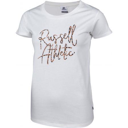Koszulka damska - Russell Athletic S/S CREWNECK TEE SHIRT - 2
