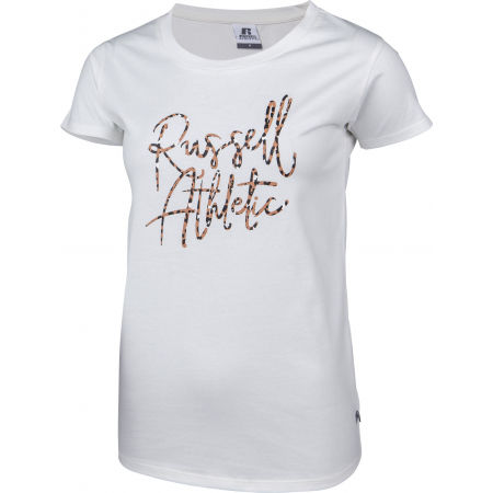 Дамска тениска - Russell Athletic S/S CREWNECK TEE SHIRT - 2