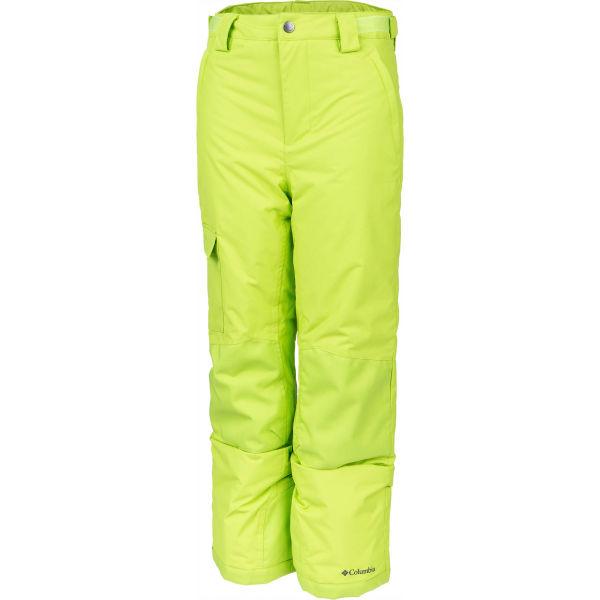 Columbia Y BUGABOO II PANT žlutá XS - Dětské zateplené kalhoty