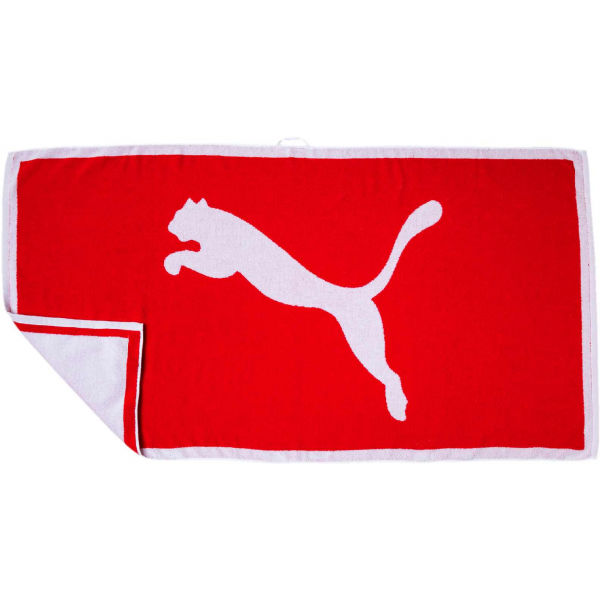 Puma TOWEL červená x - Ručník