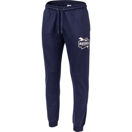 Pantaloni trening bărbați - Russell Athletic CUFFED PANT FRENCH TERRY - 2
