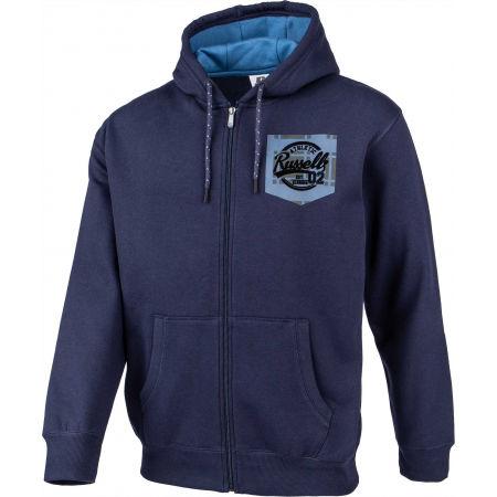 Bluza męska - Russell Athletic PRINTED HOODY SWEATSHIRT - 2