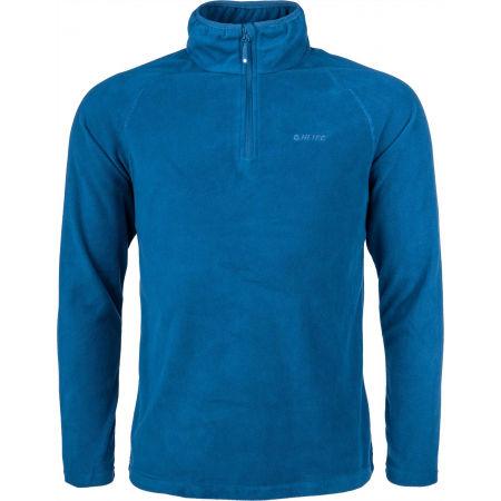 Men's microfleece sweatshirt - Hi-Tec DILASO - 1
