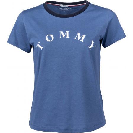 Tommy Hilfiger SS TEE SLOGAN - Damenshirt