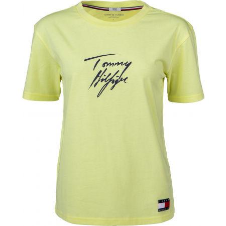 Tommy Hilfiger CN TEE SS LOGO - Tricou de damă