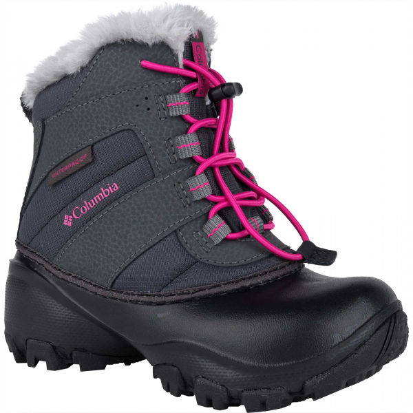 Columbia CHILDRENS  ROPE TOW  12 - Dievčenská zimná obuv