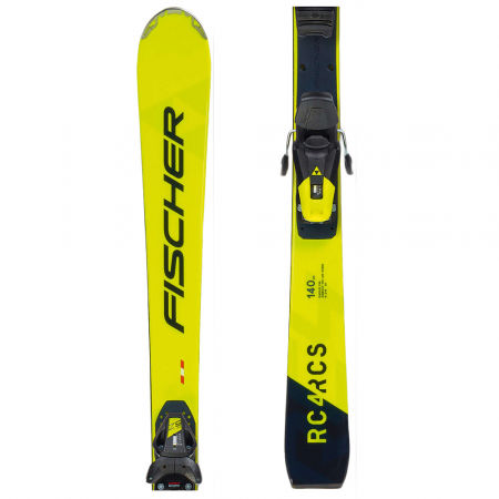 Fischer RCS JR+RC4 Z9 - Junior downhill skis