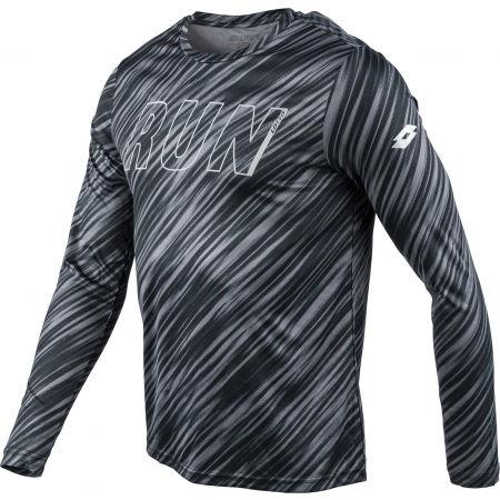 Pánské sportovní tričko - Lotto SPEEDRUN III TEE LS PRT PL - 2