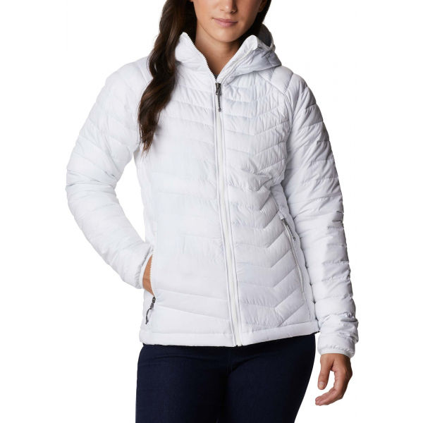 Columbia POWDER LITE HOODED JACKET  S - Dámská bunda