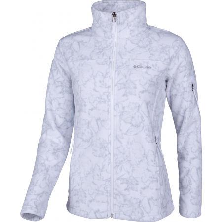 Women's jacket - Columbia FAST TREK PRINTED JACKET - 2