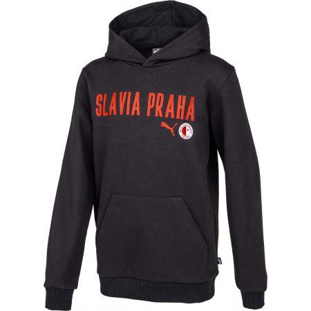 Hanorac de băieți - Puma Slavia Prague Graphic Hoody Jr DGRY - 2