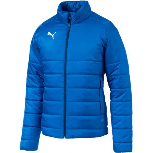Puma LIGA Casuals Padded Jacket modrá L - Pánská bunda