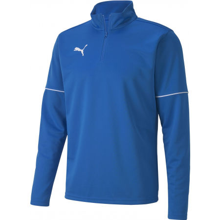 Мъжки суитшърт - Puma TEAMGOAL 1 4 ZIP TOP CORE - 1