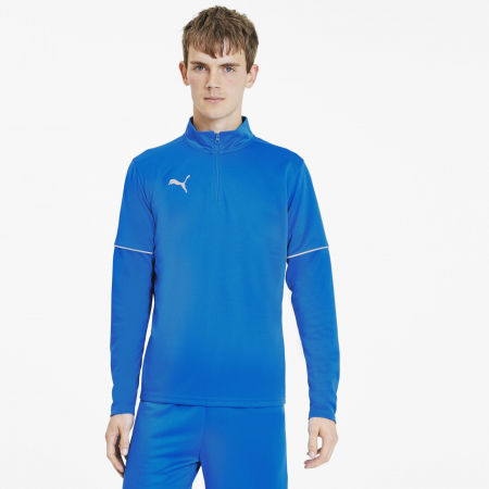 Мъжки суитшърт - Puma TEAMGOAL 1 4 ZIP TOP CORE - 3