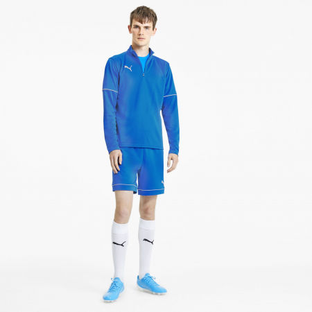 Мъжки суитшърт - Puma TEAMGOAL 1 4 ZIP TOP CORE - 5