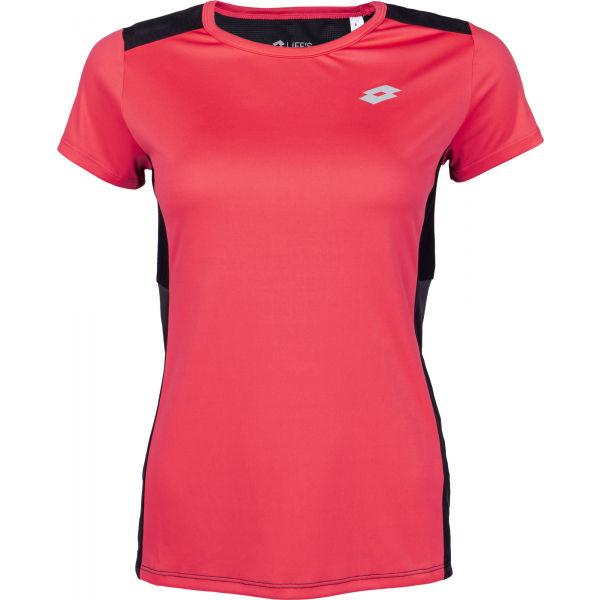 Lotto SPEEDRUN W II TEE PL  M - Dámské sportovní tričko