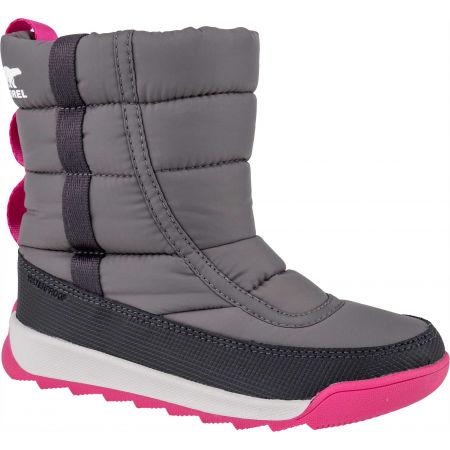 Sorel YOUTH WHITNEY II PUFFY M - Dětská unisex zimní obuv