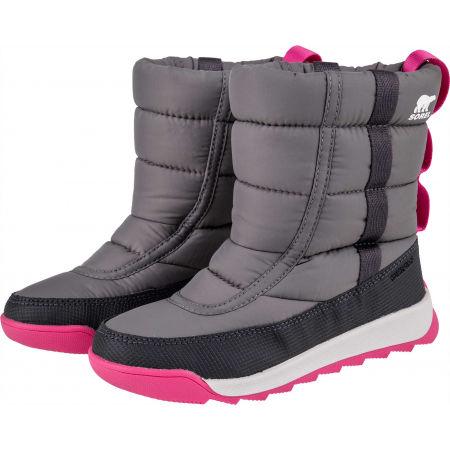 Dětská unisex zimní obuv - Sorel YOUTH WHITNEY II PUFFY M - 2