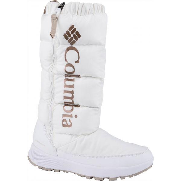 Columbia PANINARO OMNI-HEAT bílá 7.5 - Dámské vysoké zimní boty