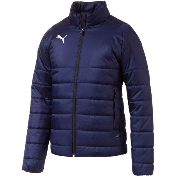 Puma LIGA Casuals Padded Jacket tmavě modrá M - Pánská bunda