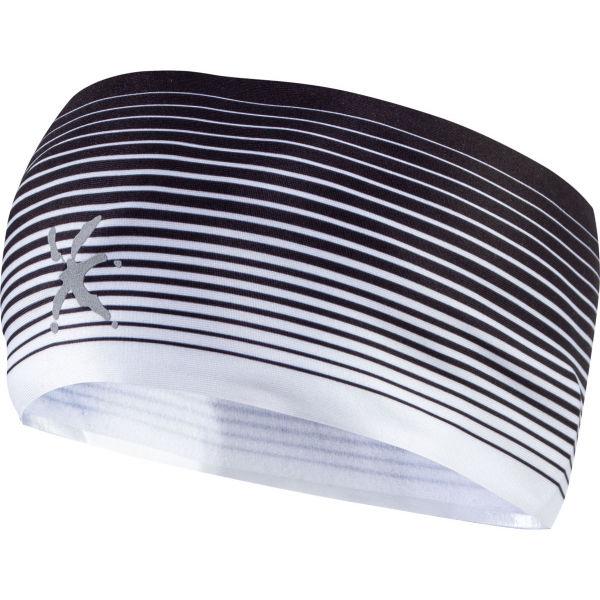 Klimatex AGAPI bílá UNI - Zimní běžecká čelenka