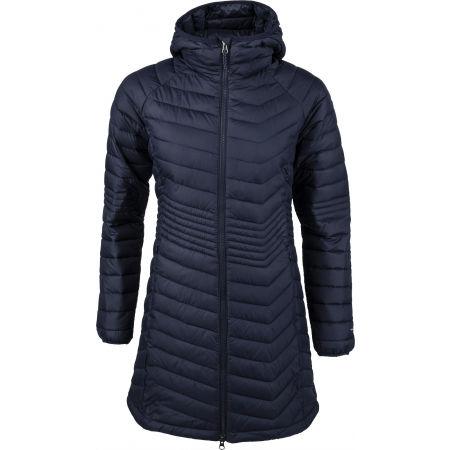 Columbia POWDER LITE MID JACKET - Dámská dlouhá zimní bunda