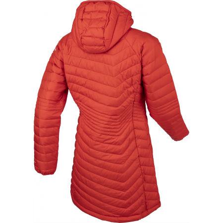 Women's long winter jacket - Columbia POWDER LITE MID JACKET - 3