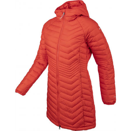 Women's long winter jacket - Columbia POWDER LITE MID JACKET - 2