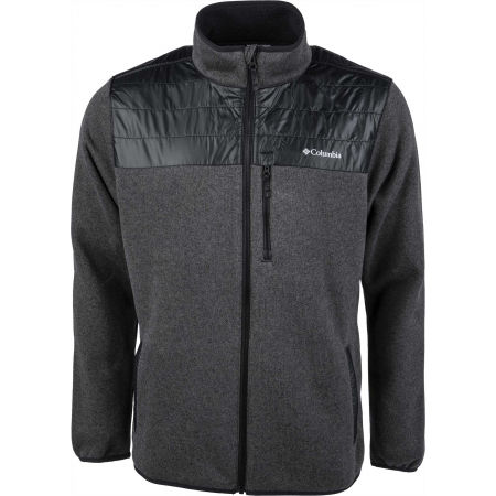 Columbia CANYON POINT SWEATER FLEECE FULL ZIP - Pulover fleece de bărbați