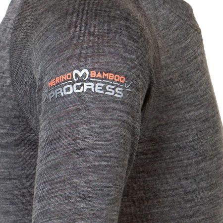 Dětské termo triko s dlouhým rukávem - Progress MB TDRD - 4