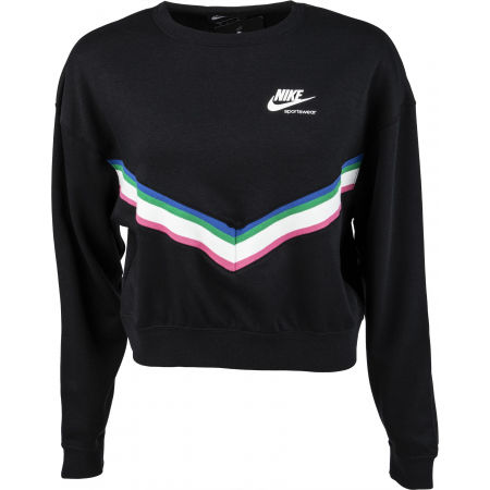 Ladies' sweater - Nike NSW HRTG CREW FLC W - 1