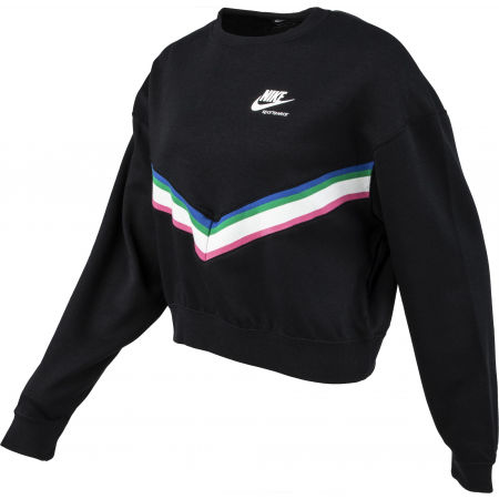 Ladies' sweater - Nike NSW HRTG CREW FLC W - 2