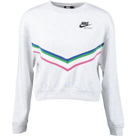 Bluza damska - Nike NSW HRTG CREW FLC W - 1