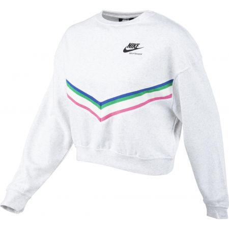 Bluza damska - Nike NSW HRTG CREW FLC W - 2
