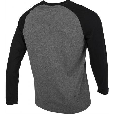 Tricou cu mâneci lungi pentru bărbați - Lotto DINAMICO III TEE LS RGL MEL CO - 3
