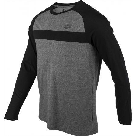 Tricou cu mâneci lungi pentru bărbați - Lotto DINAMICO III TEE LS RGL MEL CO - 2