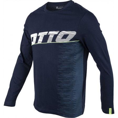 Мъжка блуза с дълъг ръкав - Lotto LOGO IV TEE LS JS - 2