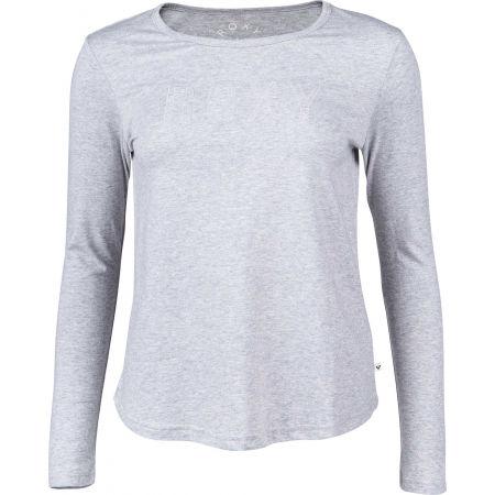 Tricou damă cu mânecă lungă - Roxy RED SUNSET LS - 1