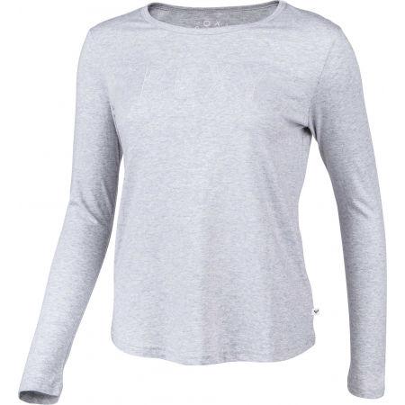 Tricou damă cu mânecă lungă - Roxy RED SUNSET LS - 2