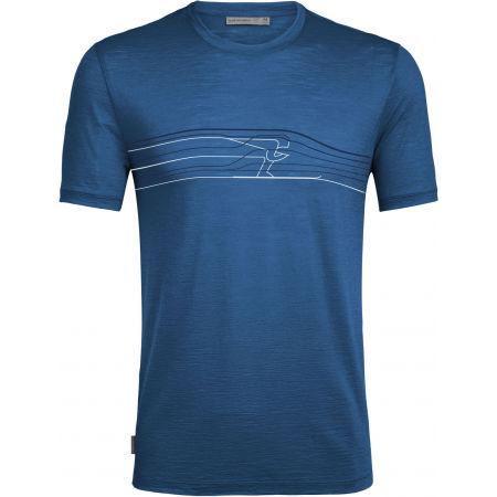 Icebreaker SPECTOR SS CREWE SKI RACER - Men's functional T-shirt