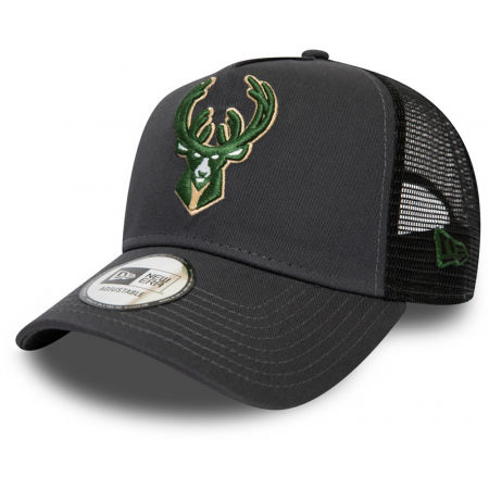 Team baseball cap - New Era 9FORTY NBA TRUCKER MILWAUKEE BUCKS - 1