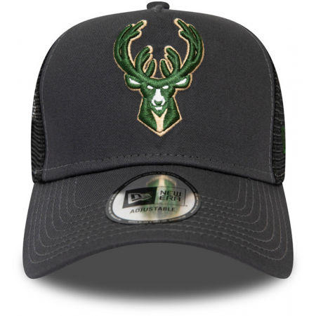 Team baseball cap - New Era 9FORTY NBA TRUCKER MILWAUKEE BUCKS - 2
