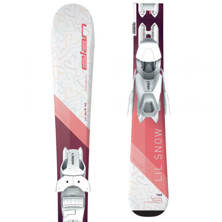 Elan LIL SNOW W QS+EL 4.5 - Junior downhill skis