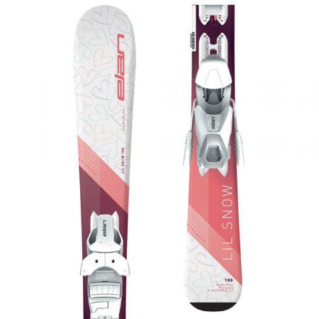 Elan LIL SNOW W QS+EL 7.5 - Младежки ски за спускане