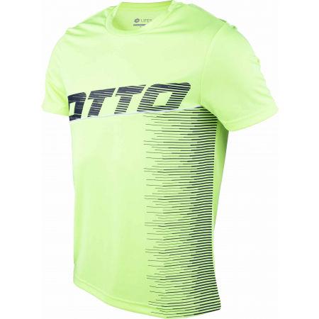 Мъжка спортна тениска - Lotto LOGO IV TEE PL - 2