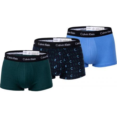 Calvin Klein 3 PACK LO RISE TRUNK - Pánské boxerky