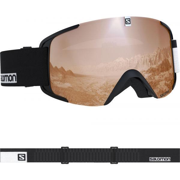 Salomon XVIEW ACCESS čierna NS - Lyžiarske okuliare