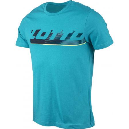 Мъжка тениска - Lotto LOGO IV TEE BS JS - 2