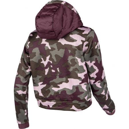 Women's hybrid sweatshirt - Columbia NORTHERN CANYON HYBRID HOODIE - 3